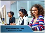 Tele Communication  PowerPoint Template