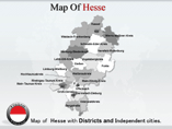 Free PPT Templates Download Hesse Map