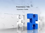 Business Powerpoint theme-Creating Puzzles