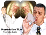 Chronic obstructive pulmonary disease powerpoint template