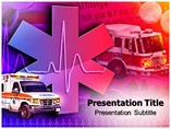Medical Rescue Ambualnce powerpoint template