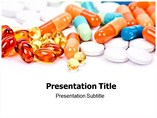 Medicinal Pills powerpoint template