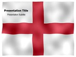 England animated PowerPoint flag template
