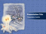 Free PPT Templates Download Candles