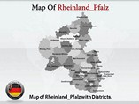 Rheinland Pfalz Maps Powerpoint Template