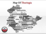 Thuringe Maps Powerpoint Template