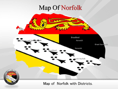 Norfolk PowerPoint map