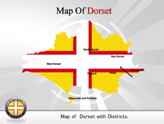 Dorset PowerPoint map