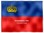 Liechtenstein animated PowerPoint Flag