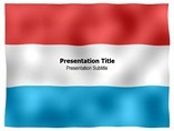 Luxembourg animated PowerPoint Flag