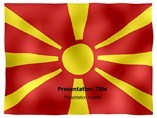 Macedonia animated PowerPoint Flag