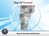Vermont Maps Atlas Powerpoint Templates
