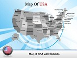 USA Map Powerpoint Templates