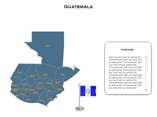 Guatemala (XML) Map Powerpoint Templates