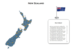 New Zealand XML powerpoint map