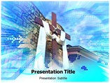 Powerpoint Templates for Draped Cross Pendant