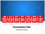 Support powerpoint template