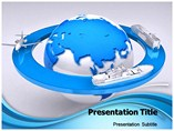 Transport Mode PowerPoint template