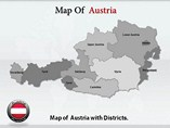 Austria Maps Powerpoint Template