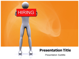 HIRING powerpoint template