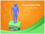 Knowledge Is Power powerpoint template