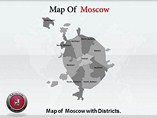 Moscow Map Powerpoint Templates