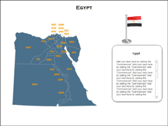 Egypt XML powerpoint map
