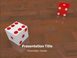 Virtual Dice PowerPoint Theme