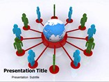 Global Networking Template PowerPoint