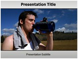 Dehydration powerpoint template