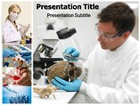 Forensic Science powerpoint template