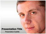 Pimples powerpoint template