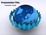 Global Communication Template PowerPoint