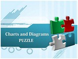 3D Puzzle Chart Powerpoint Templates