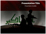 Iraq Wars Powerpoint Templates
