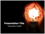 Save Electricity Powerpoint Templates
