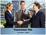 Business Etiquette PowerPoint Background