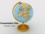 Globe powerpoint template