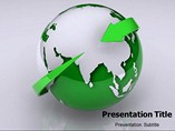 Green Earth Template PowerPoint