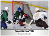 Free PPT Templates Download Ice Hockey