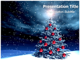 Free PPT Templates Download Christmas Tree