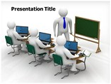 Online Class Room Powerpoint Templates