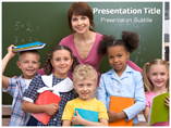 Free PPT Templates Download Primary school presentation