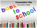 Free PPT Templates Download Welcome back school