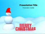 Merry Christmas Template PowerPoint