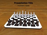 Chess Template PowerPoint
