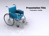 Manual Wheelchair PowerPoint Backgrounds