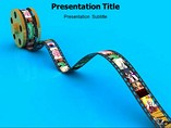 Film Reel powerpoint template