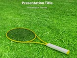 Tennis Rules Template PowerPoint