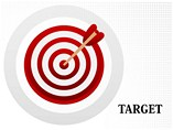 Target Charts Shapes powerpoint templates
